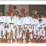 My Dojo and my team AIK ACCADEMIA MASTER - 1986.