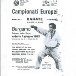 Campionati Europei Bergamo 1983