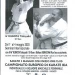 CAMPIONATO KUBOTA 2003