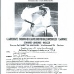 CAMPIONATO ITALIANO - STAGE M° KATO