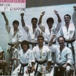 1987 TORONTO - Canada IKA WORLD CHAMPIONSHIP 1ST PLACE IKA ITALY  Team ACCADEMIA MASTER - Team: M° BORTOLIN, GRASSI, SIRO, PALMIERI, ANGELA MONETTI.